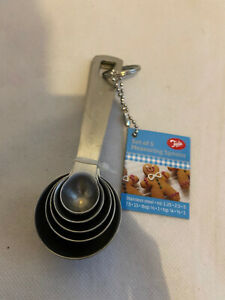 Tala Measuring Spoons Stainless Steel Baking Cooking Kitchen Stocking Filler NEW