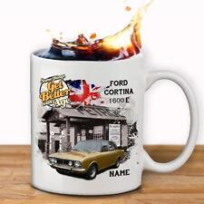 Personalizzato FORD CORTINA 1600E Auto Tazza Dad Regalo - Add Nome