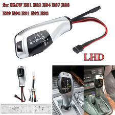 Silver Modified LED LHD Auto Gear Shift Knob Shifter Lever for BMW E84 E89 E90