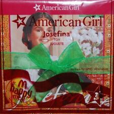 NEW American Girl Doll JOSEFINA BOOK & CRAFT Toy McDonalds #3 Happy Meal 2009