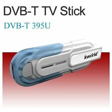 2x USB Dongle DVB-T Digital HDTV TV Stick Tuner Receiver +Antenna Remote for PC