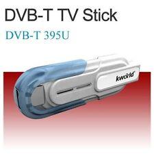 2x USB Dongle DVB-T Digital HDTV TV Stick Tuner Receiver +Antenna Remote for PC