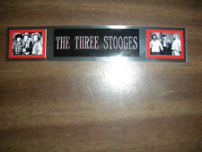 THE THREE STOOGES NAMEPLATE FOR SIGNED PHOTO/POSTER