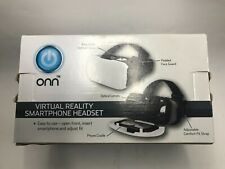 """Onn Virtual Reality Smartphone Headset iPhone Samsung Screens Up to 6"""" - NEW"""