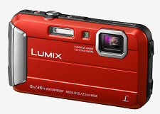 Clearance Panasonic DMC-FT30 Red Tough Waterproof Camera