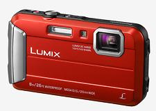 Panasonic DMC-FT30 Red Tough Waterproof Camera