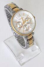 Esprit Damen Uhr Melanie silber gold Edelstahl Datum Wochentag 24 h ES108152007