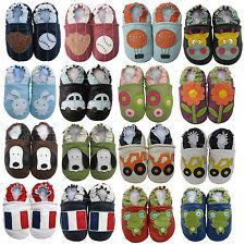 carozoo Seule chaussures de bébé en cuir souple marcheurs Pré Salé jusqu'à 6y