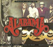 ALABAMA - MY HOME'S IN ALABAMA/FEELS SO RIGHT/MOUNTAIN MUSIC [DIGIPAK] NEW CD