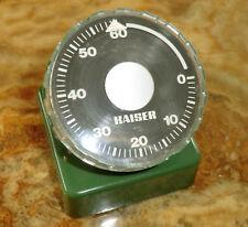 KAISER Kurzzeitmesser grün FOTOTECHNIK Wand oder Tischgerät DUNKELKAMMER Germany