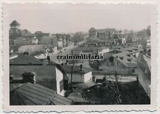 Orig. Foto Panorama einer Stadt in Griechenland 1941