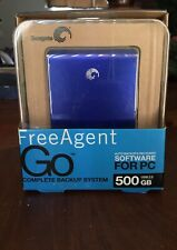 Seagate FreeAgent Go Flex 500GB USB 2.0 Complete Backup System