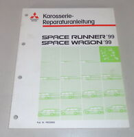 Workshop Manual Mitsubishi Space Runner/Space Wagon Body Year 1999