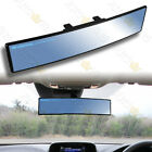 Universal Convex 360mm Wide Broadway Blue Tint Interior Clip On Rear View Mirror