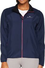 Ronhill Everyday Womens Running Jacket Blue Relaxed Fit Breathable Lightweight