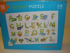 ABC Alphabet Picture Floor Jigsaw Puzzle Animals Crocodile Creek 35 Pieces
