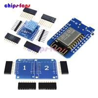 WeMos D1 ESP8266 ESP-12 NodeMCU Lua Dual Base DHT11 WIFI Development Board