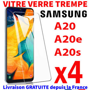Vitre Pour Samsung A20e/A20s/A20 Verre Trempé Protection Ecran 9H Glass Screen +