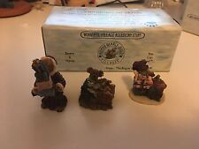 Boyds Collection Accesory Ted E Be 00004000 ar Shop Set #2 19501-2