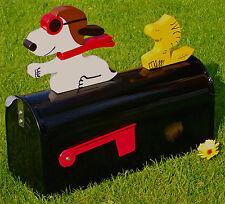 """Snoopy Friends""  Edelstahl US-Mailbox"