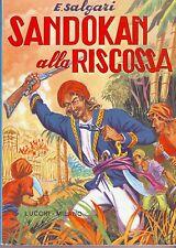 SANDOKAN ALLA RISCOSSA E. Salgari (1972) EDITRICE LUCCHI