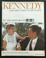 LOOK MAGAZINE - December 1963 - JOHN F KENNEDY JFK & His Family in Pictures