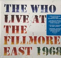 The Who - Live At The Fillmore East (2xCD) New Sealed Free UKP&P