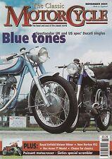 Ducati 250  REX-ACME TT  Royal Enfield Meteor Minor  Norton Zundapp B500 11/2004