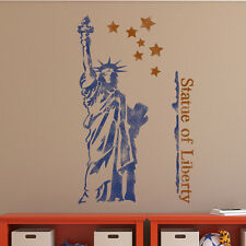 The Statue of Liberty Wall Stencil for Wall decor GRAFFITI better than wallpaper