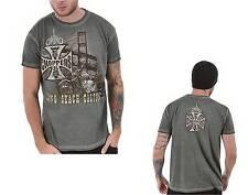jersey T-Shirt man WCC West Coast Choppers Bridge Khaki Moto Biker Custom