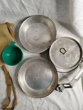 BSA National Council Mess Kit w Case Regal Vintage  Boy Scouts of America