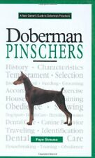 New Owners Guide to Doberman Pinschers by Strauss, Faye Hardback Book The Fast