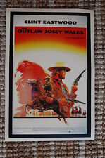 The Outlaw Josey Wales Lobby Card Movie Poster #2  Western