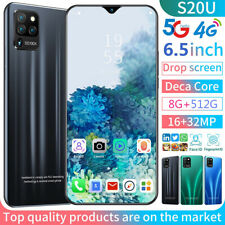 S20U 6.3 inch 8g+256g 5G Dual SIM Card Octa Core Android 10 Smart Mobile Phone
