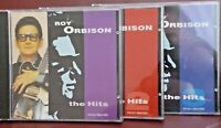 Roy Orbison the Hits, volumes 1, 2 + 3 - 36 top hits RARE Set