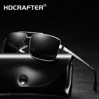 Men's Metal Polarized Sunglasses Fashion Outdoor Retro Driving Classic Glasses