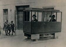 Voiture sans Roues c. 1910 - Automobile Patins - 52