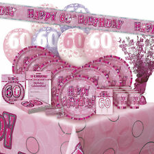 60 Birthday Decorations In Party Balloons