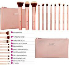 BH Cosmetics - Metal Rose - 11 Piece Brush Set With Cosmetic Bag