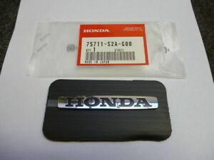 Honda Original S2000 Aile Badge Emblème