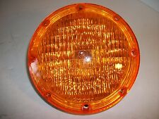NOS Grote Seal Beam Light with Amber Cover 78323 12 V Bus Truck Warning Light
