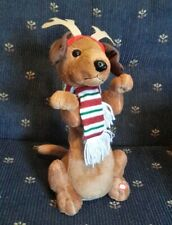 Animated Musical Dancing Reindeer Dog Christmas Decor