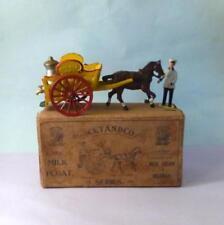 Vintage Lead 1925 TAYLOR & BARRETT for CETANDCO Complete Milk Float Set BOXED