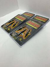 4pk Swhacker 100 Grain Expandable Bow Hunting Broadheads 2 Blade 1.75