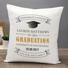 Personalised Graduation Cushion - Printed with any message
