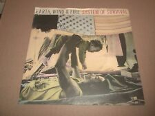 """EARTH WIND & FIRE """" SYSTEM OF SURVIVAL """" 7"""" SINGLE EX/VG 1987 FUNK DISCO"""
