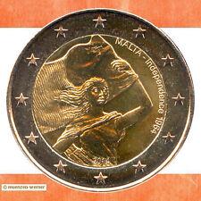 Sondermünzen Malta: 2 Euro Münze 2014 Unabhängigkeit Sondermünze Gedenkmünze