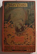 Michel Strogoff  portrait imprimé Jules Verne hetzel rare