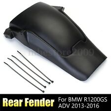 Rear Tire Hugger Fender Mudguard Extension Black For BMW R1200GS ADV 2013-2016