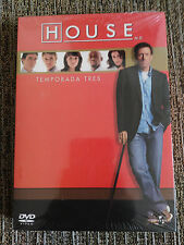 HOUSE MD PRIMERA TEMPORADA 3 COMPLETA EDICION 6 DVD CASTELLANO ENGLISH REGION 2